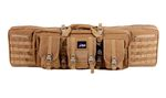 DELTA TACTICS DOUBLE RIFLE CARRY BAG 107CM TAN