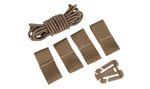 SET CLIPS Y CORDONES CASCO FAST TAN