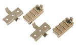 SET ADAPTADORES MONTURAS RAIL TAN PARA CASCO FAST EMERSON