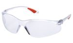 DELTA TACTICS CLEAR FRAME CLEAR LENSE H GOGGLE