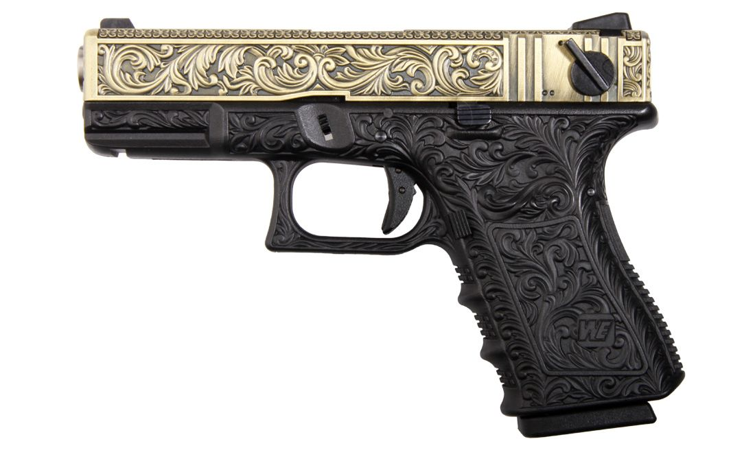23 IVORY PISTOLA GBB WE-G004-BOX-IV