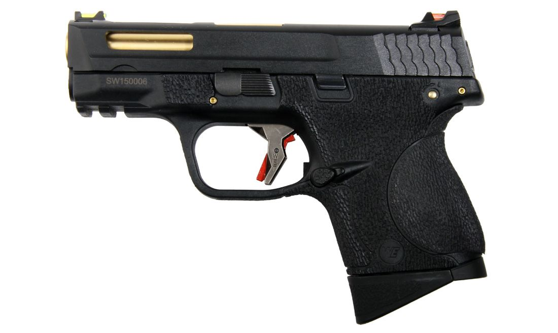 L BIRD NEGRA PISTOLA GBB WE-BB08WET-1
