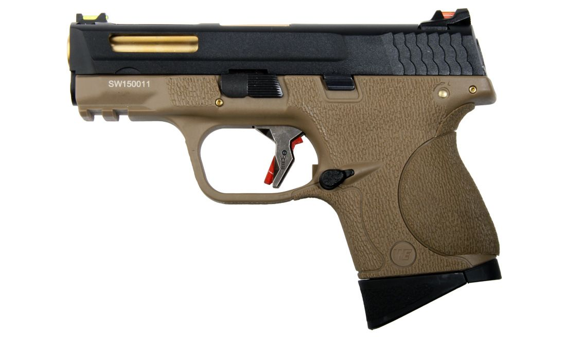 L BIRD TAN PISTOLA GBB WE-BB08WET-1