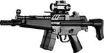 PLASTIC GERABOX FM5J AIRSOFT AEG RIFLE