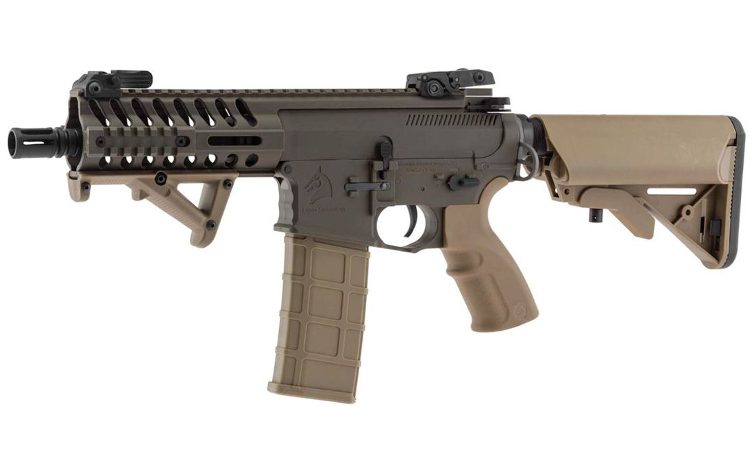 BO DYNAMICS (AR13510) SHIELD 595 BAW-PRO OD - TAN AIRSOFT AEG RIFLE