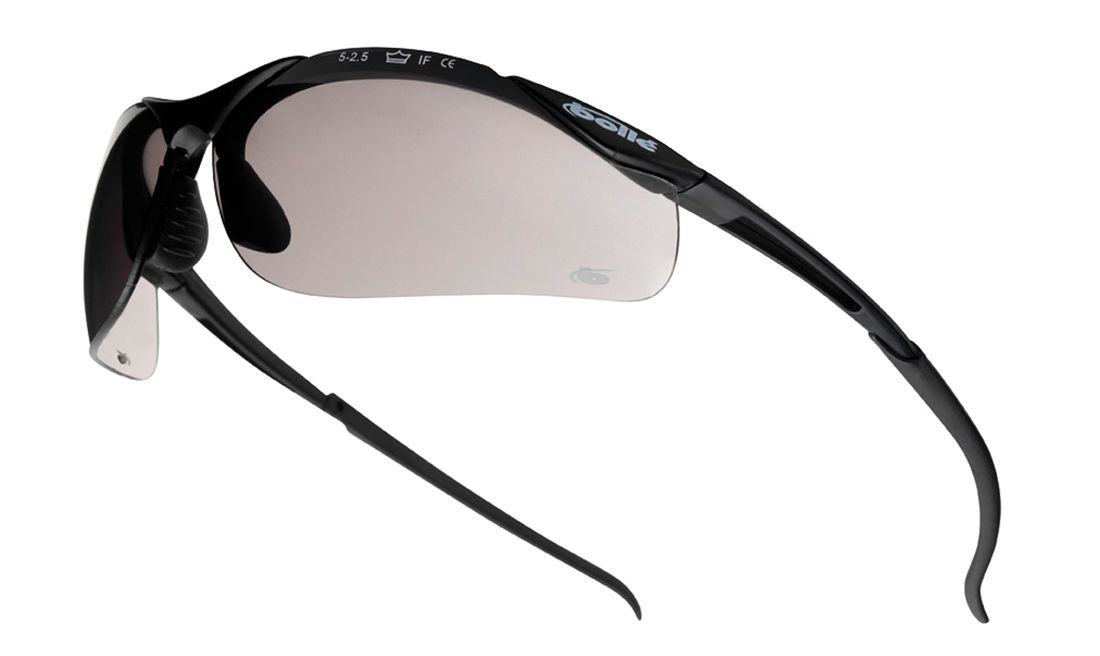 BOLLÉ CONTOUR SAFETY SPECTACLE SMOKE LENS