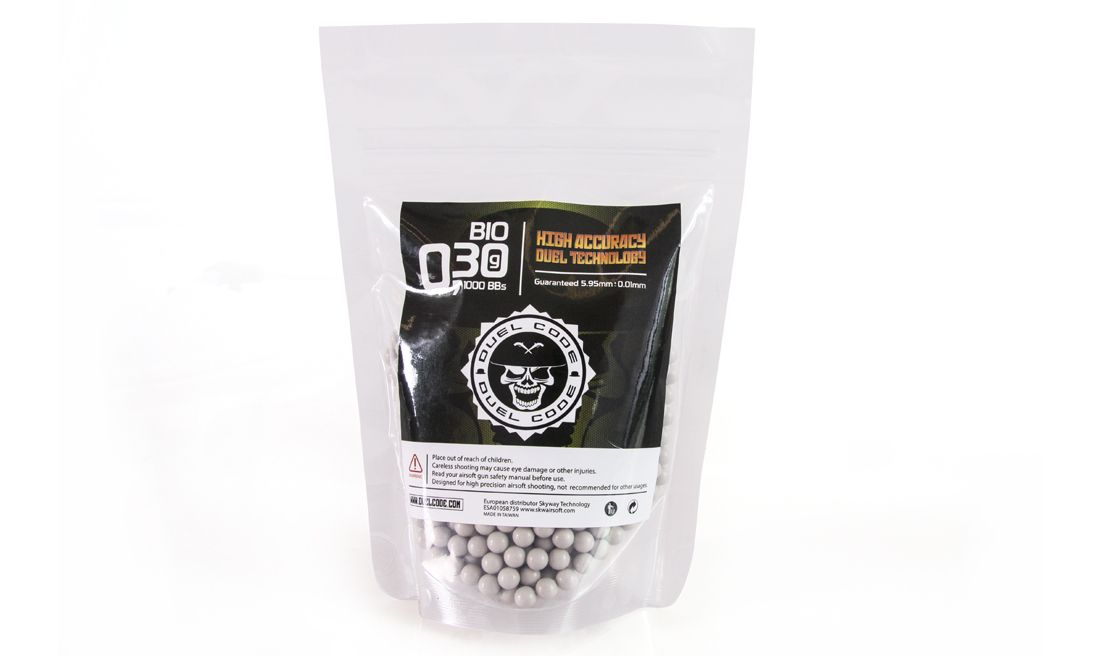 DUEL CODE 0.30G 1000RDS OFF WHITE BIO BB