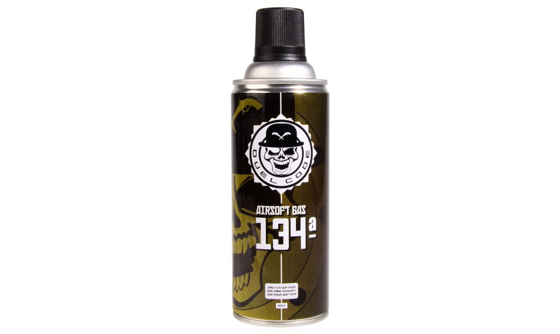 AIRSOFT GAS 134ª 400ML DUEL CODE