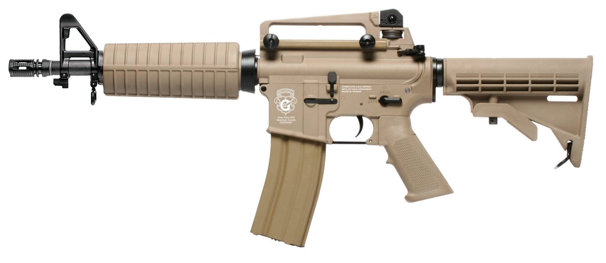 G&G CM16 LIGHT PLASTIC DST SPECIAL COMBO AIRSOFT AEG RIFLE