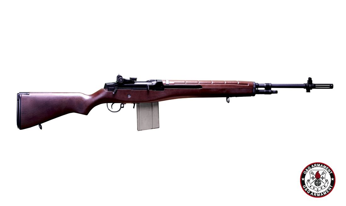 G&G RIFLE TYPE 57 R.O.C. IMITATION WOOD STOCK AIRSOFT AEG RIFLE