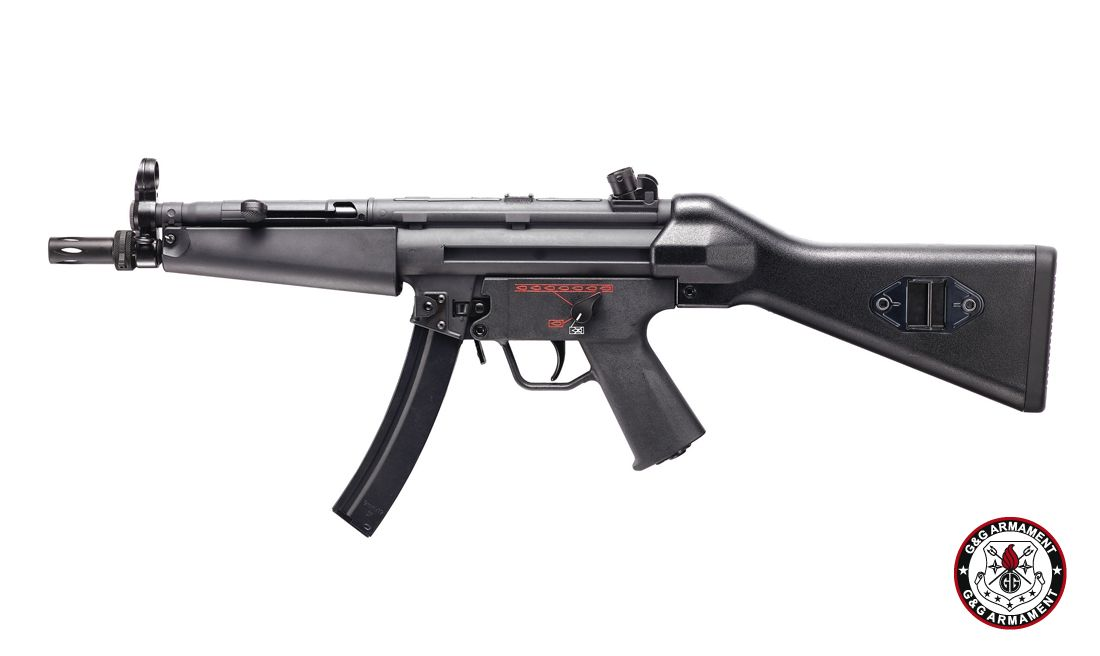 G&G EGM A4 BLOW BACK PLASTIC-COMBO AIRSOFT AEG RIFLE