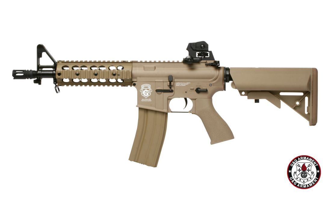 G&G GR15 RAIDER DST PLASTIC BLOW BACK-COMBO AIRSOFT AEG RIFLE