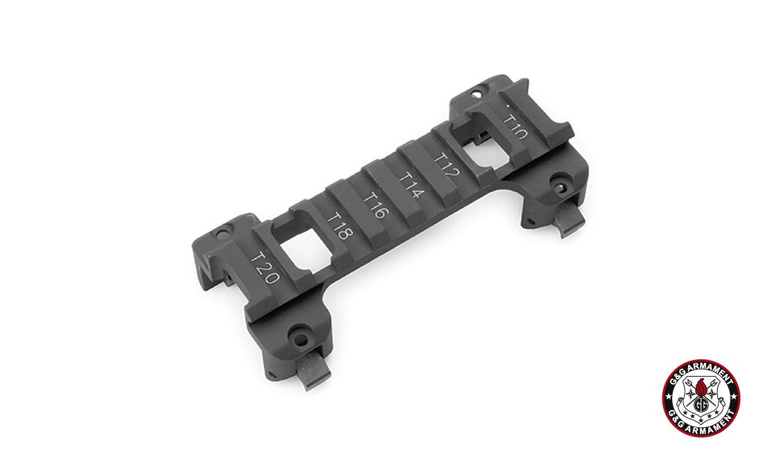 G&G LOW PROFILE MOUNT FOR G3/MP5 SERIES