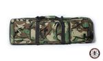 G&G TACTICAL DOUBLE RIFLE BAG - 90CM (WOODLAND)