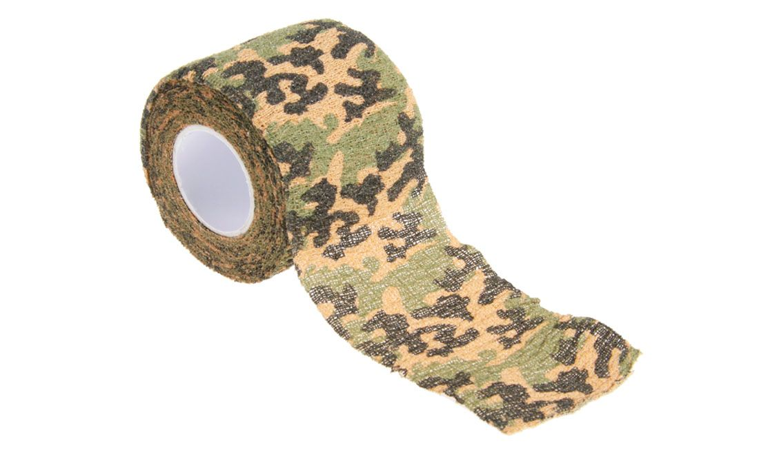 DELTA TACTICS SELF-CLINGING CAMO TAPE FOREST
