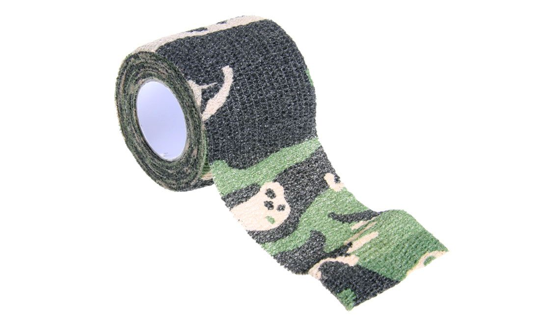 DELTA TACTICS SELF-CLINGING CAMO TAPE WOODLAND