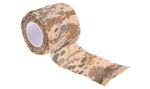 DELTA TACTICS SELF-CLINGING CAMO TAPE DIGITAL TAN