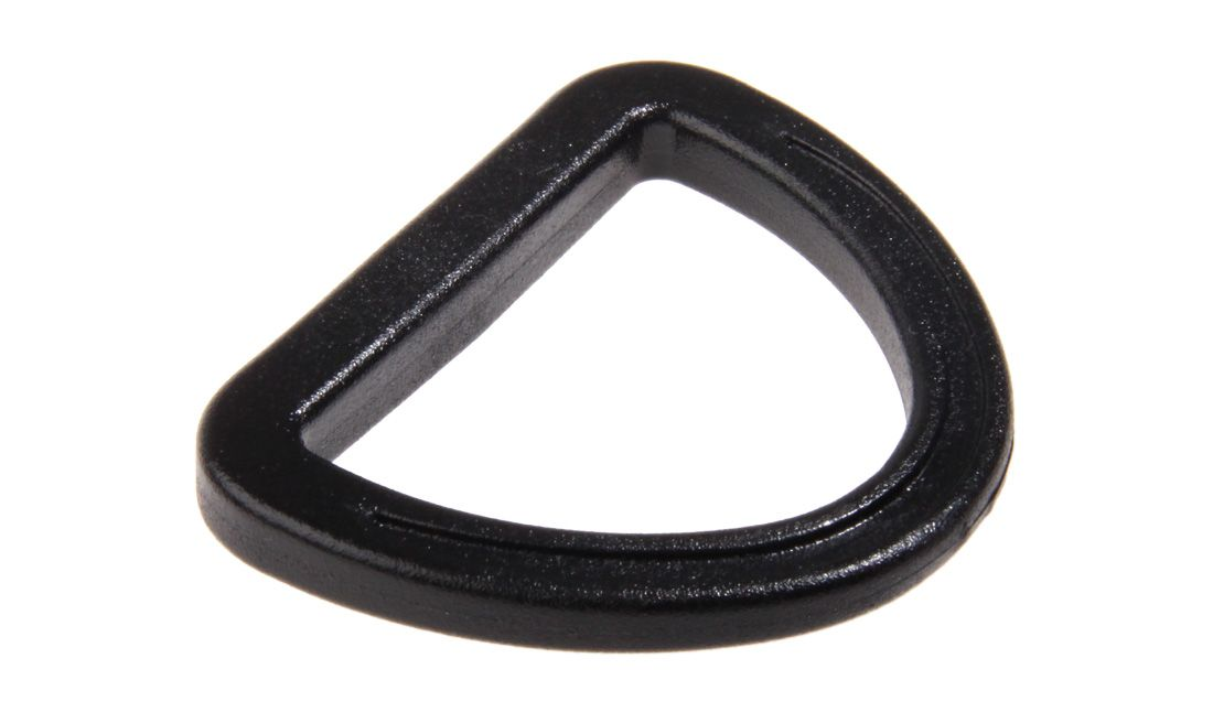 HIGH RESISTANCE D-RING WITH GHILLITEX TECH 38 MM BLACK