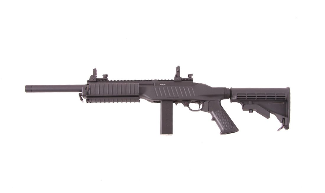 GBB KC-02 LONG MAG KJ WORKS AIRSOFT RIFLE