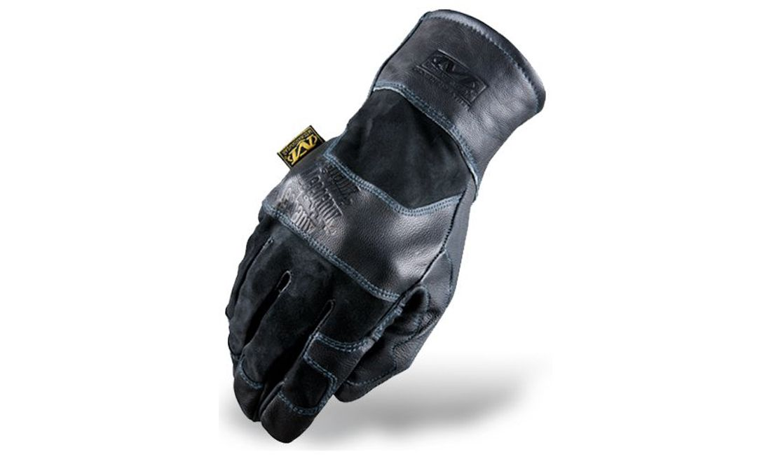 GUANTES MECHANIX ALL LEATHER GAUNTLET COVERT S