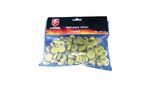 S-THUNDER PLASTIC CAP FOR POWDER LANDMINES 100PCS YELLOW