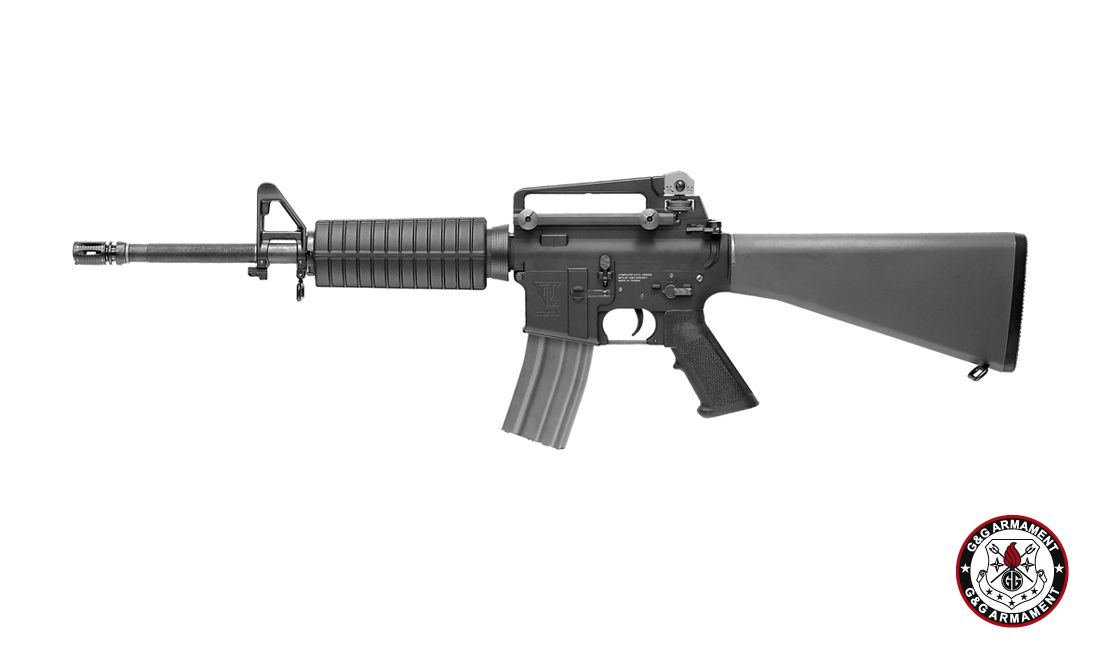 G&G TR16 A3 CARBINE AIRSOFT AEG RIFLE