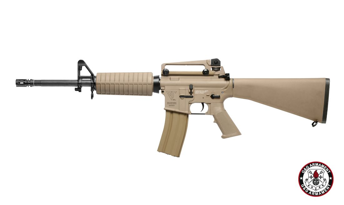 G&G TR16 A3 CARBINE DST AIRSOFT AEG RIFLE