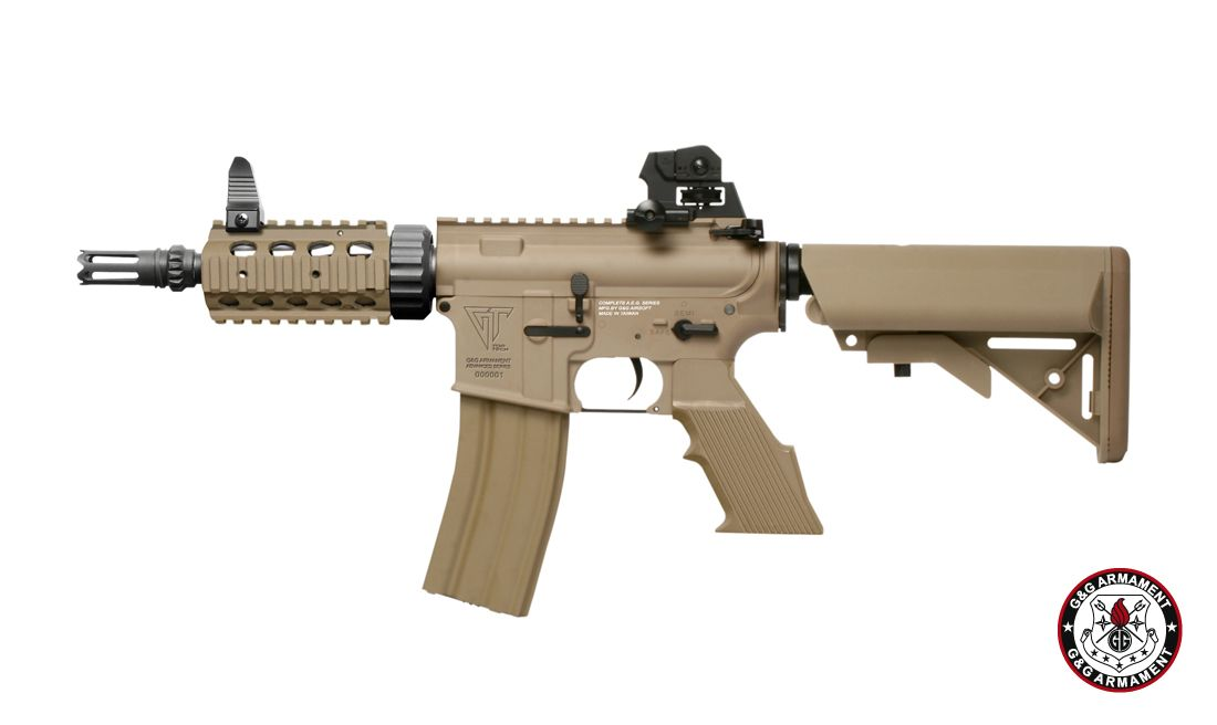 G&G TR16 CQW DST AIRSOFT AEG RIFLE
