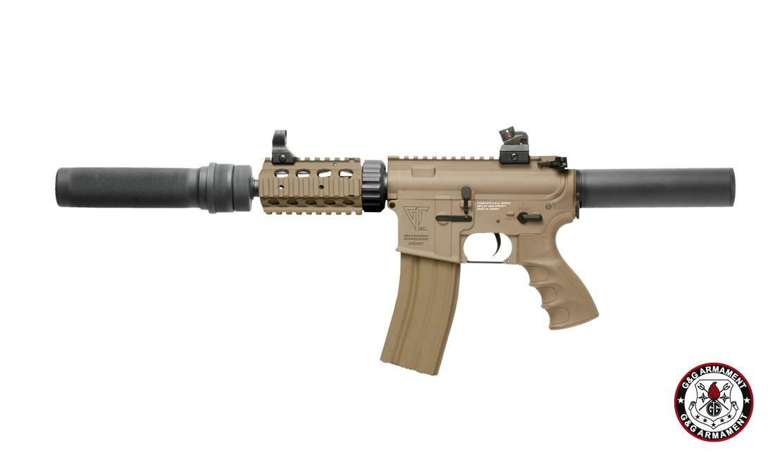 G&G TR16 CRW CANNON DST AIRSOFT AEG RIFLE