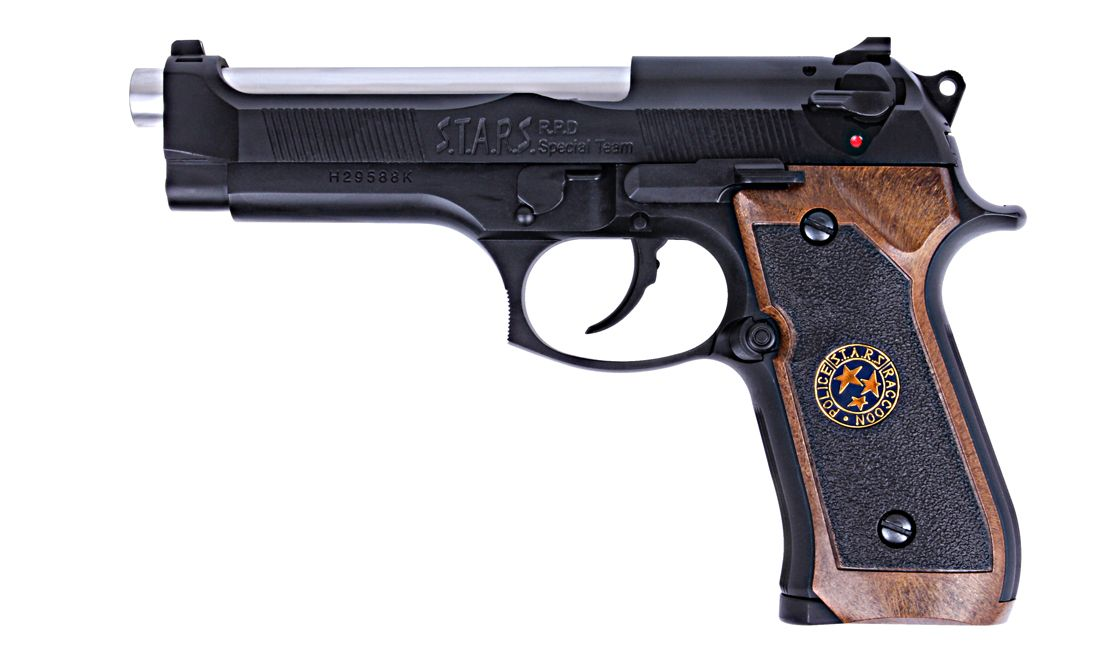 BIOHAZARD M92 BLACK PISTOLA GBB WE-2058GB