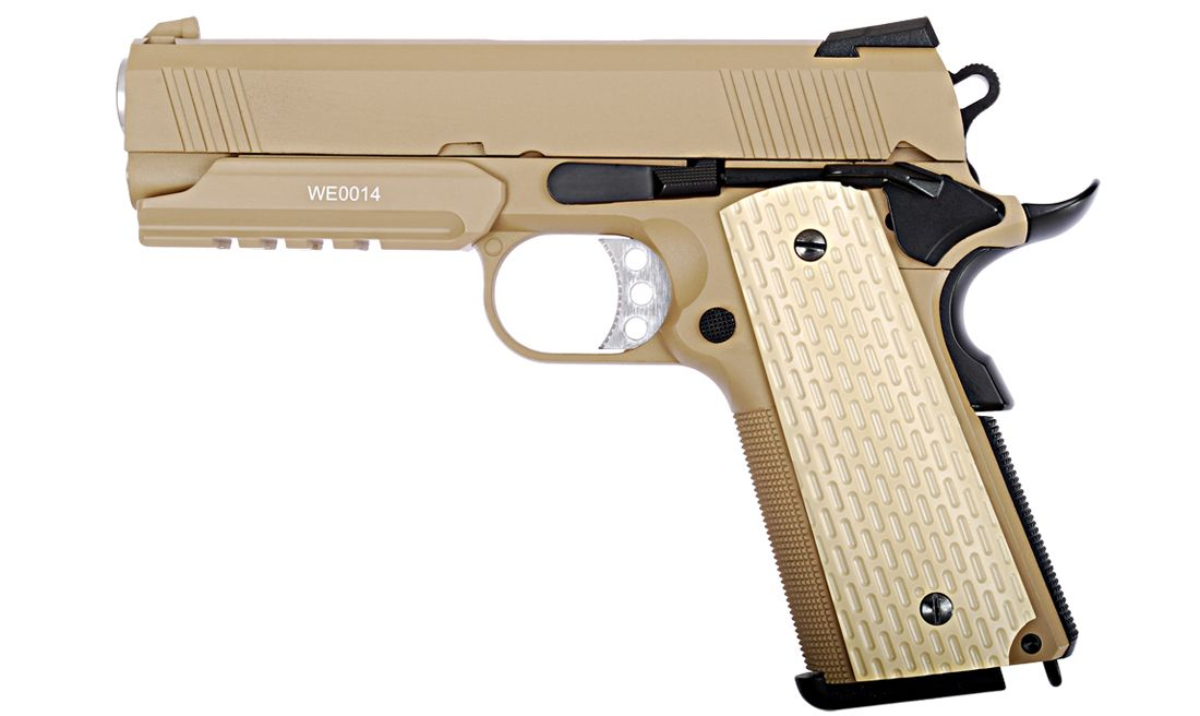 DESERT WARRIOR 4.3 TAN PISTOLA GBB WE-E011-T