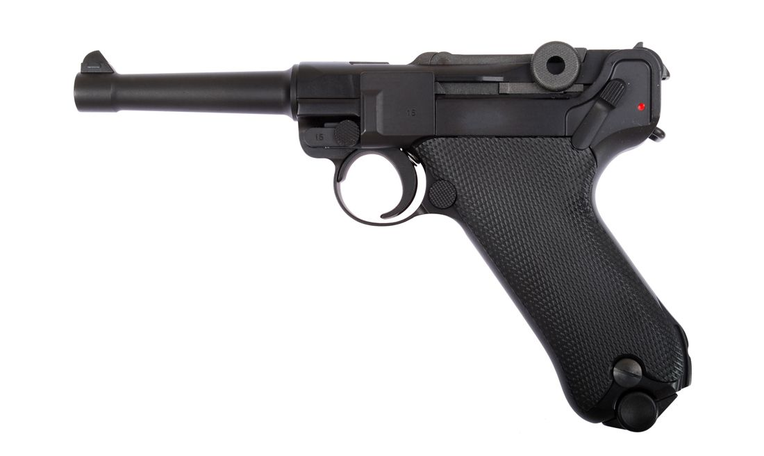 P08 4 BLACK PISTOLA GBB WE-P001