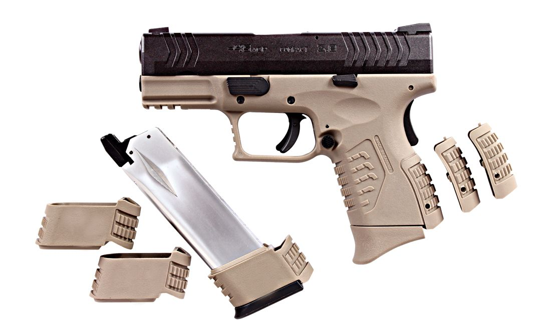 ULTRA COMPACT 3.8 TAN BLACK PISTOLA GBB WE-X003-T