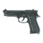 Blank pistol Bruni model 92 black color, 9mm