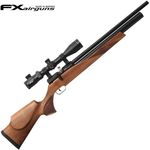 AIRGUN PCP FX STREAMLINE COMPRESSED AIR WALNUT