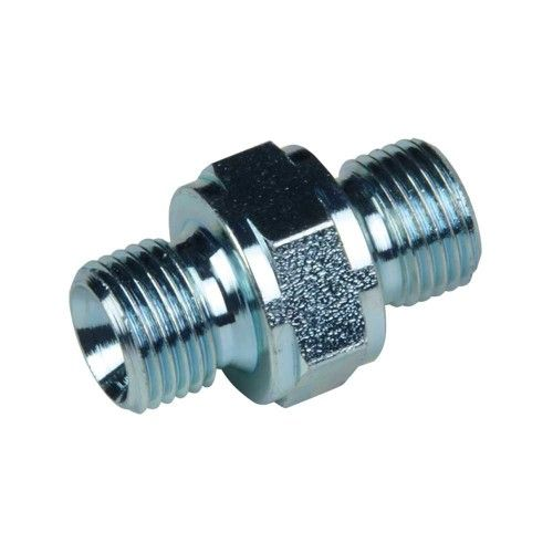 1/8 male BSP adapter - 1/8 male (60 ° inner cone)