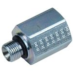 1/8 BSP male adapter with joint - 1/4 BSP female