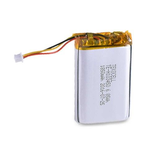 Li-Pol 1850 mAh battery.