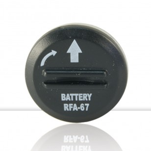 6V lithium battery pack 2 un. RFA-67D-11