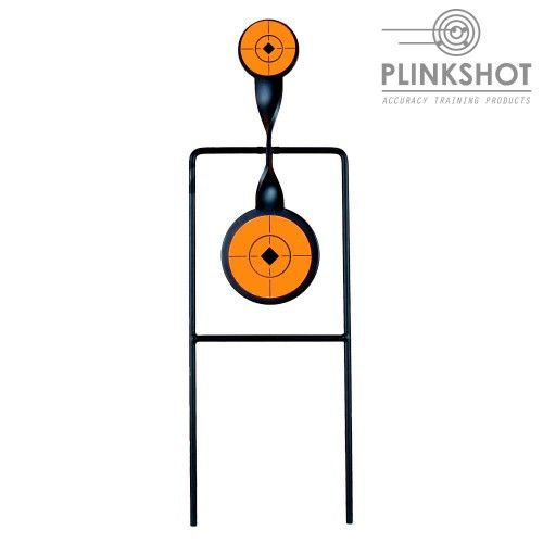 Target 1 double pivoting element Plinkshot - 9mm - high