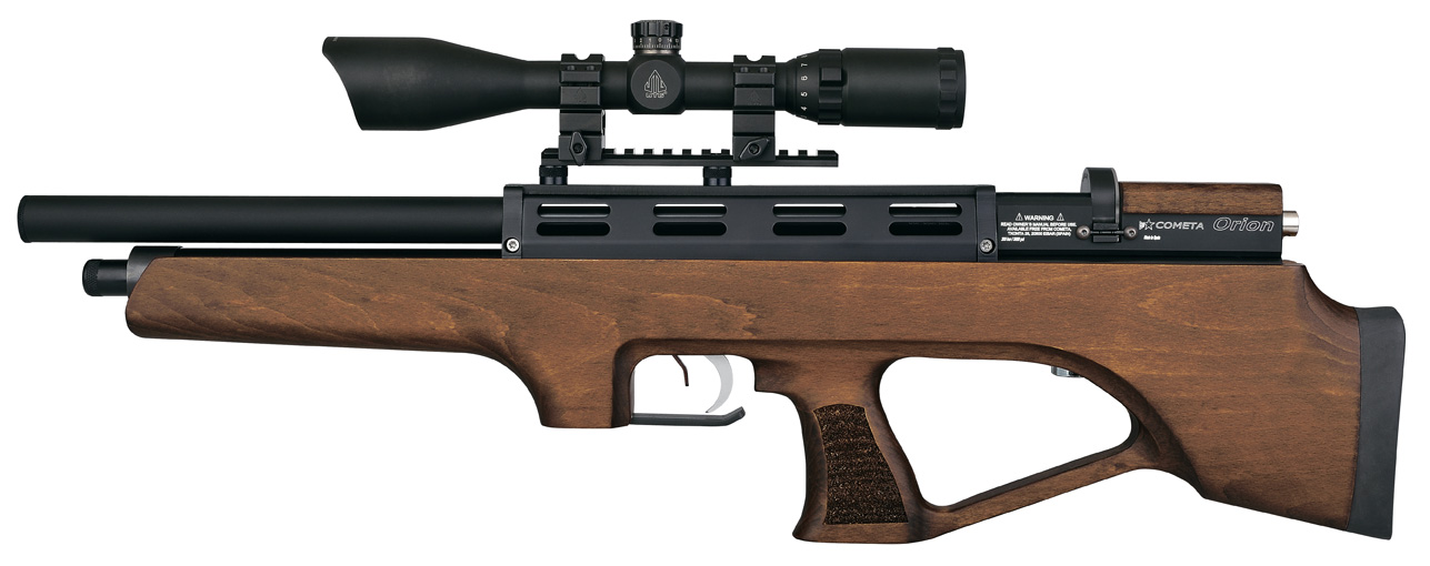 Wood Orion Bull Pup Cometa PCP airgun