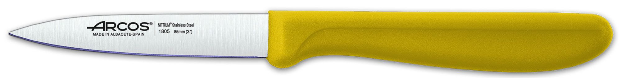 Paring Knife Yellow Arcos ref.: 180525