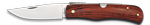 Pocket knife ALBAINOX carbon red pakkawood