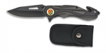 Pocket knife ALBAINOX black FOS