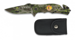 Pocket knife ALBAINOX green camo 8.6 cm