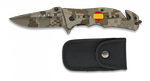 Pocket knife ALBAINOX sand camo FOS
