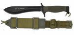 Tactical knife ALBAINOX ALACRAN black