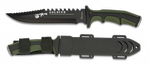 Tactical knife ALBAINOX SOLDIER green
