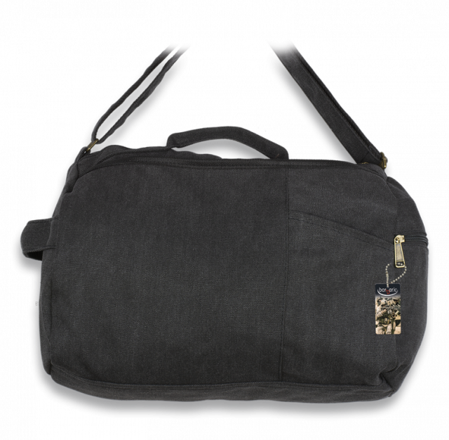 Shoulder bag BARBARIC black