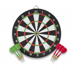 Dartboard 41 cm with 6 darts ALBAINOX